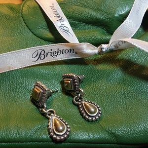Brighton Silver Earrings.
